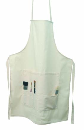 ARTCARE NATURAL CANVAS APRON