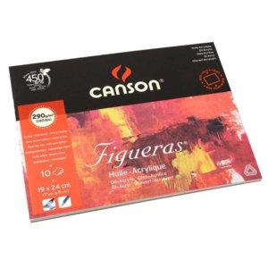 CANSON CANVAS GRAIN 56X42 290GSM