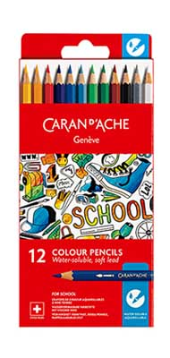CARAN SCHOOL W/C PENCIL X12