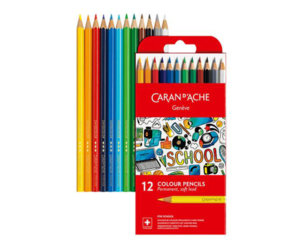 CARAN SCHOOL PERM PENCILS X12