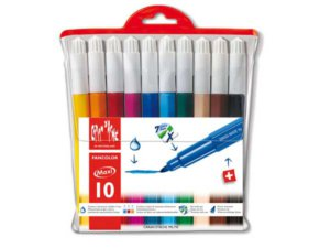 CARAN FANCOLOR 10 FIBRE PENS XL