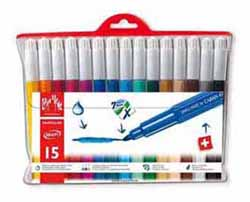 CARAN FANCOLOR 15 FIBRE PENS XL