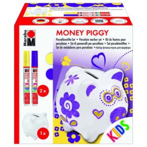 MARABU PIGGY MONEY BOX PORCELAIN SET N/A