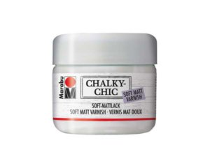 CHALKY CHIC 225ML SOFT MATT VARNISH