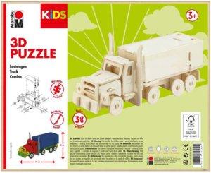3D PUZZLE TRUCK