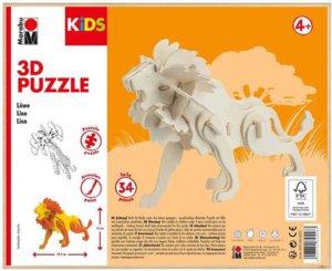 3D PUZZLE LION