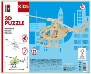 3D PUZZLE HELICOPTER
