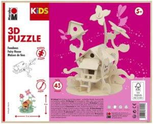 3D PUZZLE FAIRY HOUSE