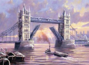PBN 31 TOWER BRIDGE ADULT LARGE
