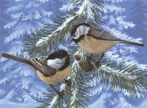 PBN 33 PINE BIRDS ADULT LARGE