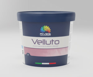 RIVES VELLUTO SILVER BASE 1LT