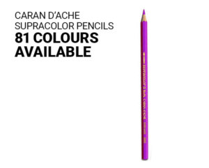 CARAN D'ACHE SUPRACOLOR PENCILS