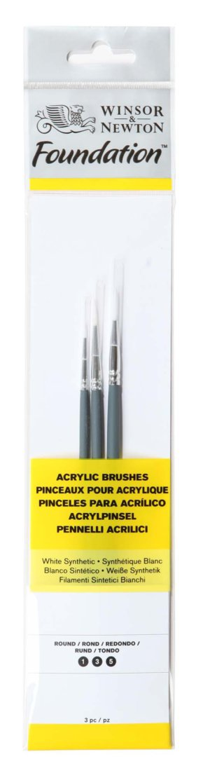 BRUSH PK FOUNDATION ACR X3