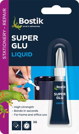 BOSTIK SUPER GLUE BLISTER PACK